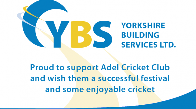 YBS sponsors of the Dewsbury Rams & Adel Cricket Club