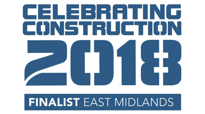 Shortlisted in the 2018 East & West Midlands Celebrating Construction