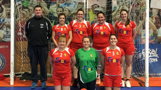 YBS support Leeds Hornets ladies Handball Team