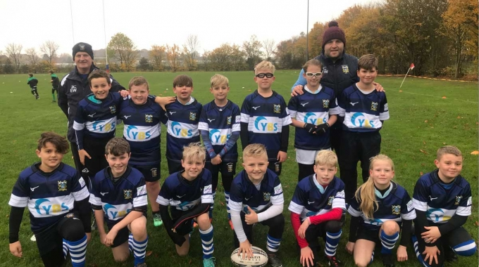 YBS are proud to sponsor Pontefract RUFC U11's