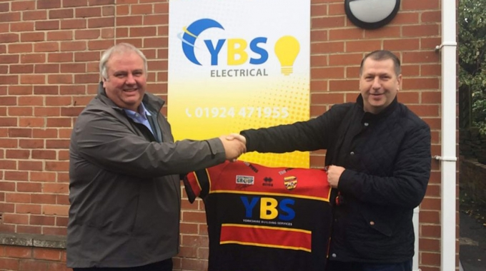 YBS main sponsors of the Dewsbury Rams for 2020
