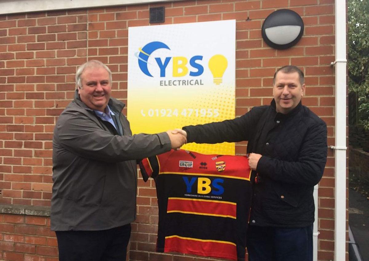 YBS main sponsors of the Dewsbury Rams for 2020