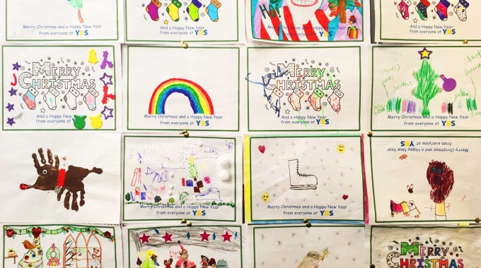 The YBS Annual Children's Christmas Colouring Competition