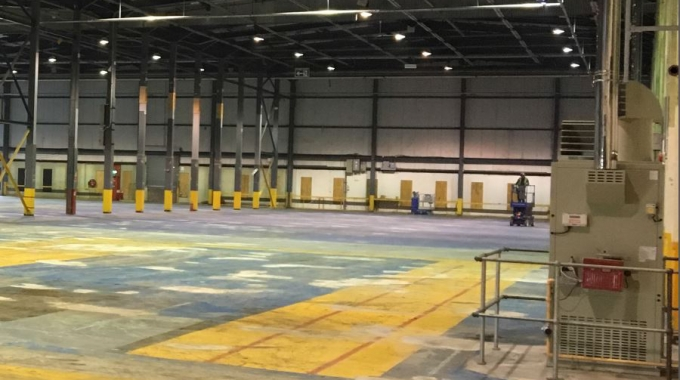 Gas fired heating goes live in Midlands distribution centre