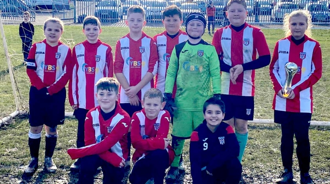YBS sponsor Carcroft under 11s