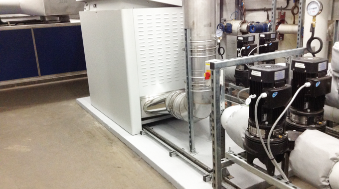 New boilers provide high efficiency heating