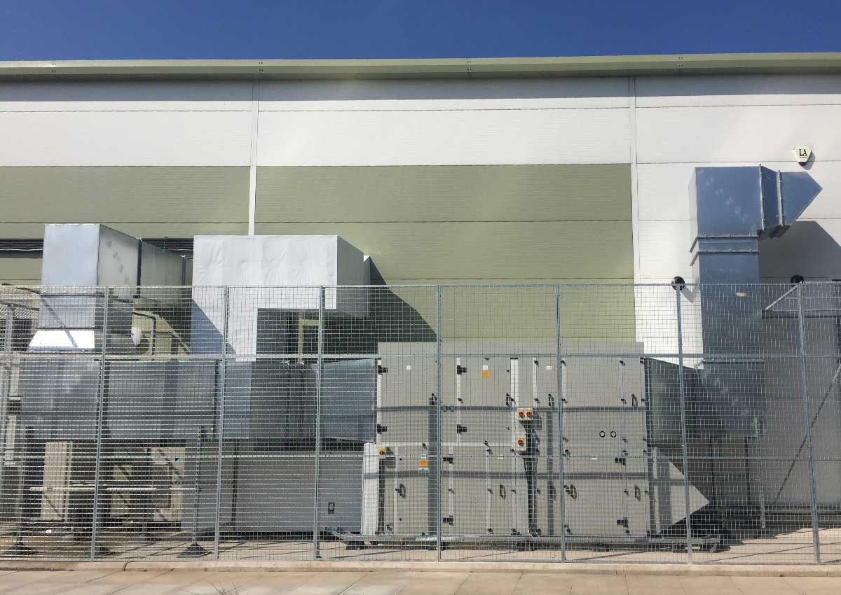 Works complete in South Wales