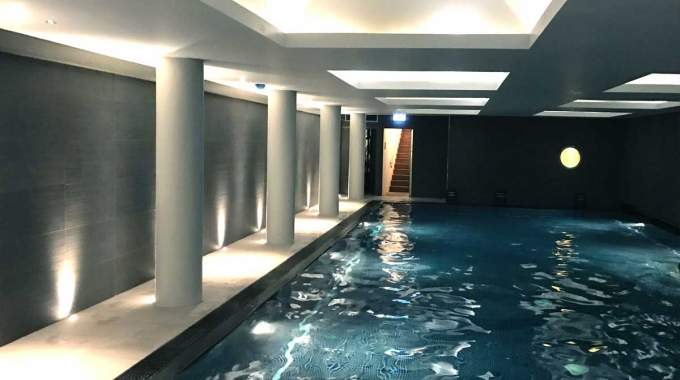 Central London pool refurbishment