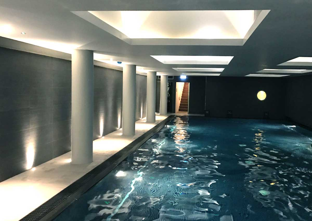 Central London pool refurbishment