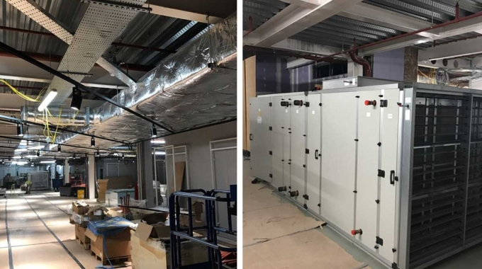 New mechanical services nearing completion in Oxford