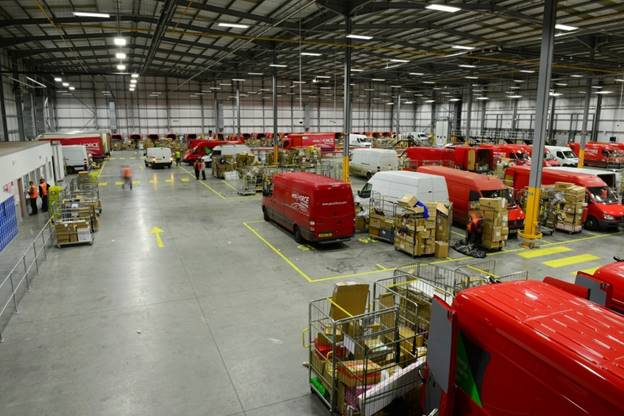 M&E services to update parcel delivery depot