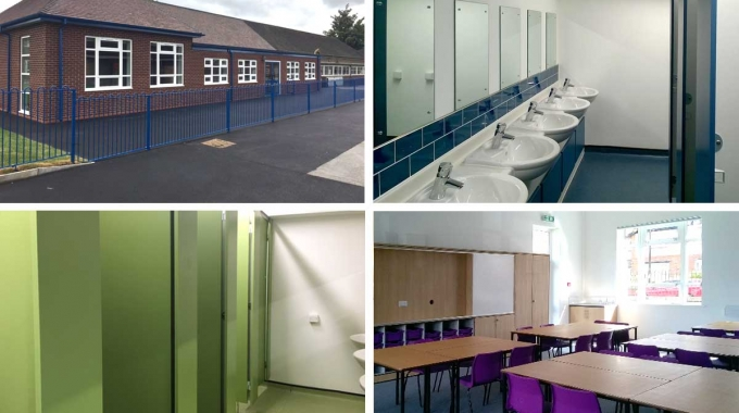 Manchester primary school upgraded for new term