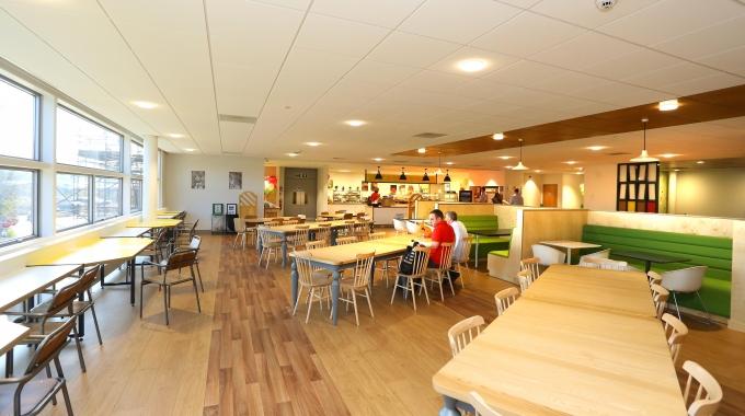 Cafe refurbishment on Tyneside