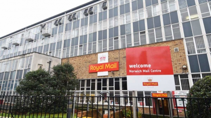 Major refit to Norwich mail centre