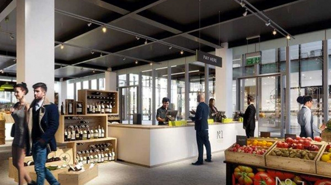 New food retail outlet to Manchester's buzzing Spinningfields area